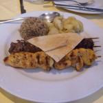 Plato del Restaurante libanés Baalbek