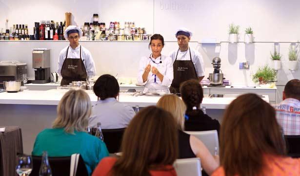 La escuela de cocina telva vuelve al aula de cocina del - Escuela cocina telva ...