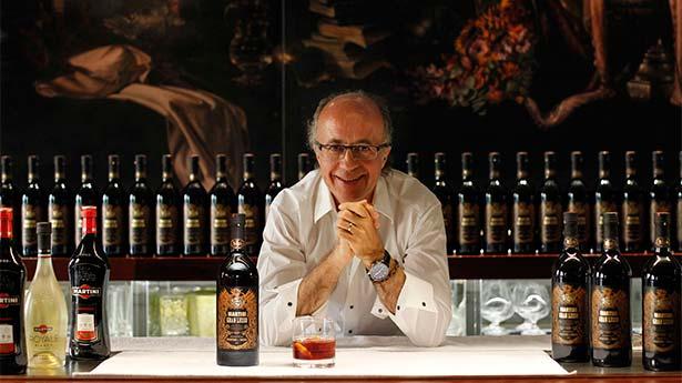 Javier de Muelas, en la presentación del Gran Lusso Martini