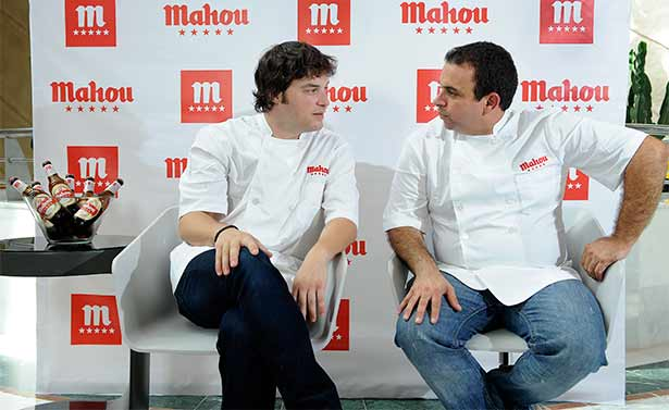 Jordi Cruz y Juan Carlos Padrón