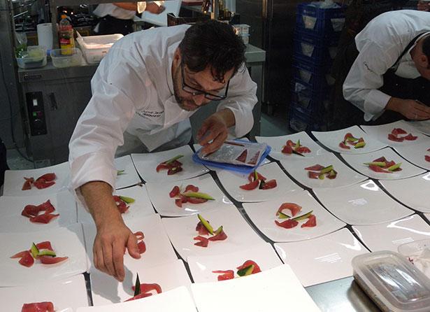 La cocina de vanguardia de quique dacosta llega al royal for La cocina moderna y de vanguardia