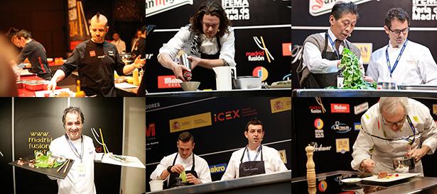 Algunos de los cocineros que han participado este año en madridfusión | Fotos: madridfusión