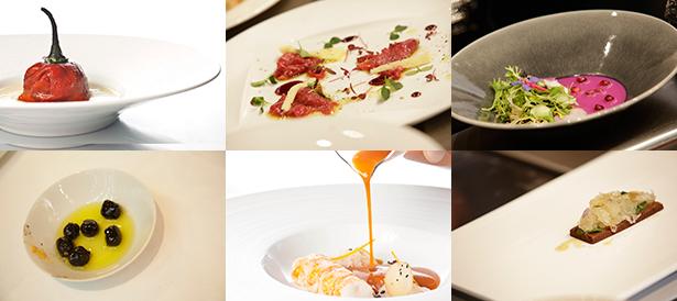Varias de las creaciones culinarias presentadas este año en la muestra | Fotos: madridfusión
