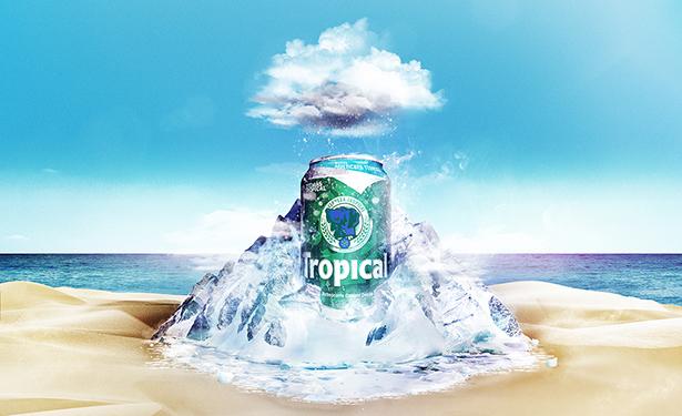 La lata multicapa permite mantener la cerveza fría durante más tiempo | Imagen: Tropical