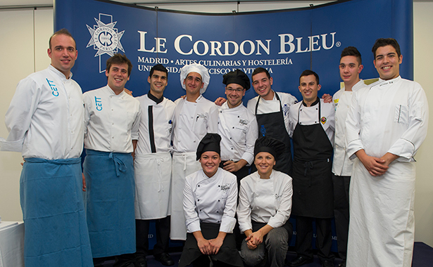Foto de familia de los finalistas del premio Promesas de la Alta Cocina de Le Cordon Bleu | Foto: Guillermo García Baltasar