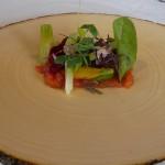 Ensalada biológica estacional, con verduras cultivadas en el Sur de la Isla | Foto: J.L.C.