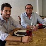 Indalecio Martín y su hijo Javier están al frente del Heritage   Foto: J.L.C.