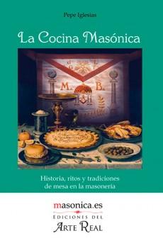 Portada del libro 'La Cocina Masónica' de Pepe Iglesias
