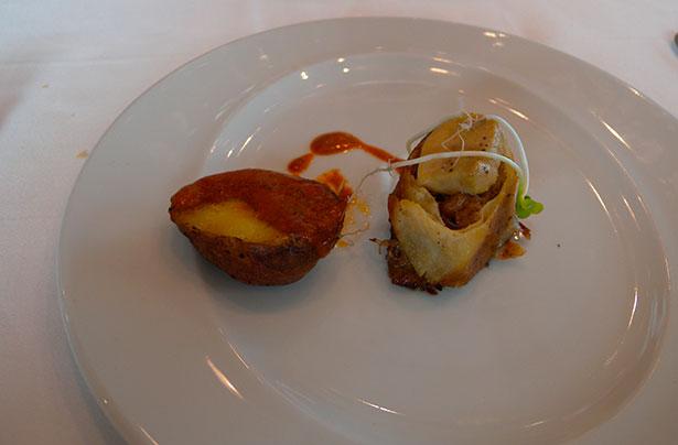 Una de las propuestas con foie que pueden degustarse hoy en El Corte Inglés | Foto: J.L.C.