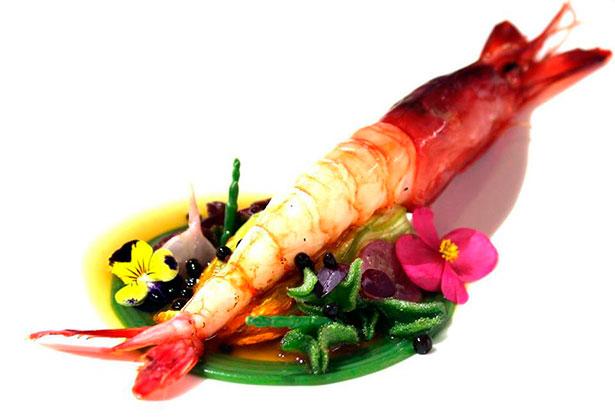 El plato con el que ha ganado el Premio Rubén Cabrera