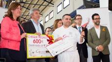 Rubén Cabrera recoge el premio
