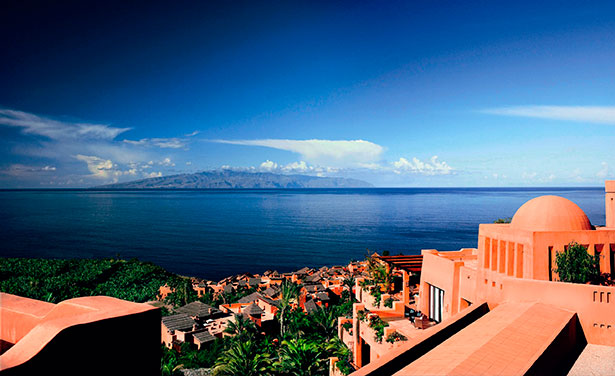Vista del hotel The Ritz Carlton Abama
