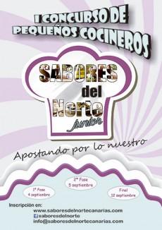 Cartel del concurso Sabores del Note Junior