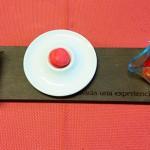 La secuencia del tomate: macaron, mini de vainilla y semiseco con cangrejo real   Foto: M. Villalba