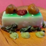 Pastel de queso, aguacate, tomate y berros   Foto: M. Villalba