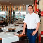 Ismael Abbassi, en su restaurante Gula. Foto: Sergio Méndez