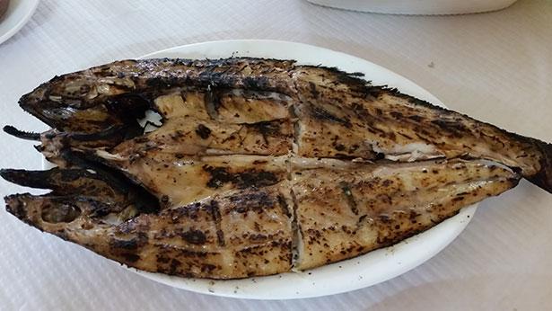 Jarea de pescado en el Bar Padilla   Foto: J.L.C.