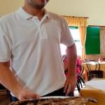 El nieto de Avelino, fundador del restaurante, continuará la tradición de las jareas   Foto: J,L.C.