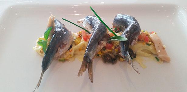 Las sardinas, ingrediente principal de uno de los nuevos platos de El Gula | Foto: J.L.C.