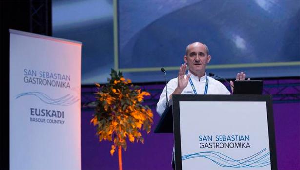 Paco Pérez, en San Sebastián Gastronomika | Foto: Coconut