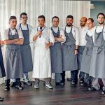 Francis Paniego y su equipo en la presentación realizada en San Sebastian Gastronomika | Foto: Coconut