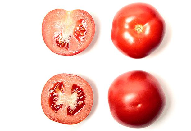 Tomate canario de la variedad Orone | Foto: Cabildo de Tenerife