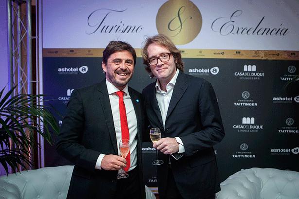 Jorge Marichal y Clovis Taittinger | Foto:Andrés Gutiérrez