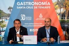 José Manuel Bermúdez (i) y Alfonso Cabello, durante la presentación