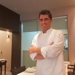 El chef Alberto Margallo, del restaurante San Sebastián 57| Foto: J.L.C.