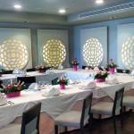 Comedor del restaurante El Ancla, en el hotel Arenas del Mar en El Médano