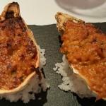Txangurro en ostra gratinado | Foto: J.L.C.