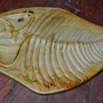 La forma del pescado está presente en muchas de sus creaciones | Foto: J.L.C.