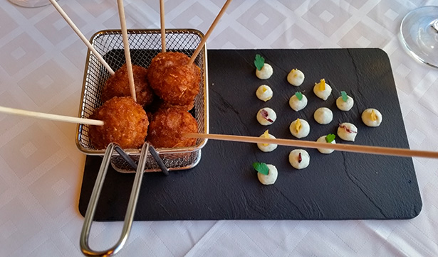 Croquetas del restaurante Thomas Algo?   Foto: J.L.C.
