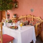 Detalle del restaurante La Hacienda | Foto: J.L.C.
