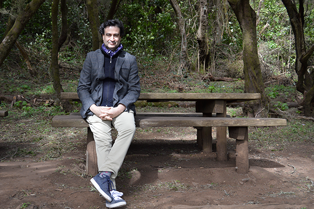 Pepe Rodríguez, en La Laguna Grande, donde se realizó la entrevista | Foto: J.L.C.