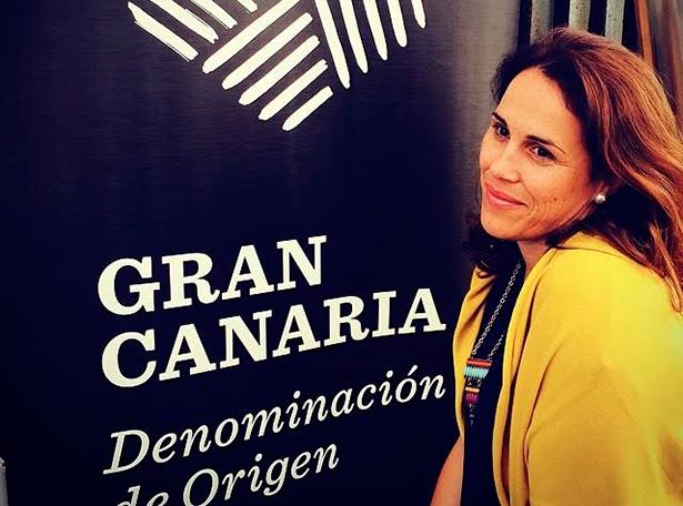 Vanesa Santana, gerente de la Denominación de Origen Protegida Vinos de Gran Canaria