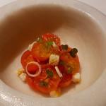 Mortero de tomate cherry ecológico en la presentación y…| Foto: J.L.C.