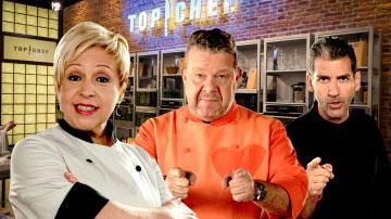 Los presentadores de Top Chef | Foto: antena3