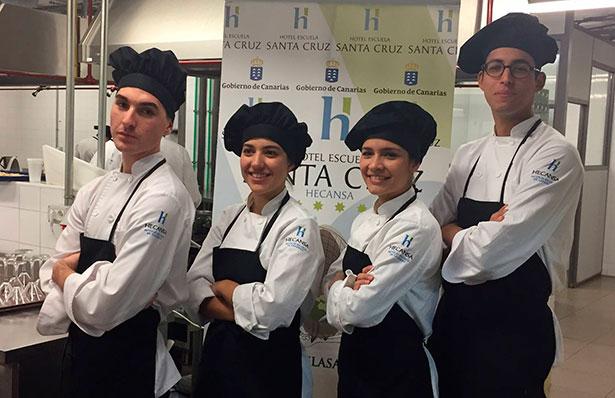 Resultado de imagen de Dos alumnas de Hecansa en la Final de los Premios Promesa a la Alta Cocina de Le Cordon Bleu Madrid