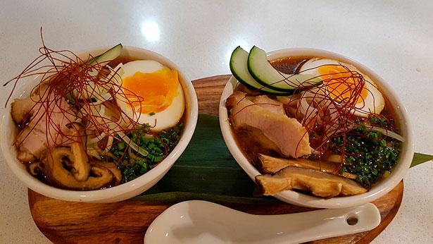El ramen, plato de sopa japonés, con diferentes caldos, al que se añaden los fideos de trigo sarraceno | Foto: J.L.C.