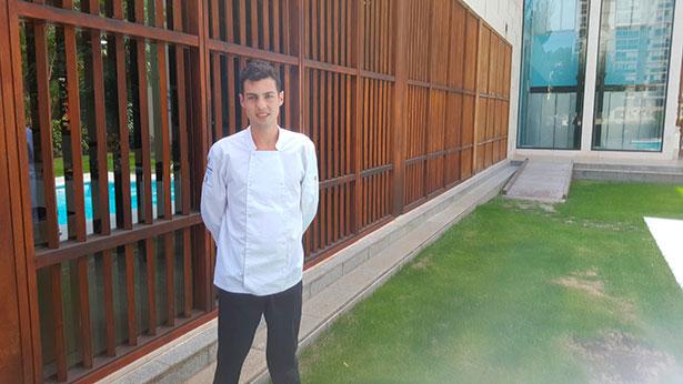 Javier Jimánez, en el Hotel Escuela de Santa Cruz | Foto: J.L.C.