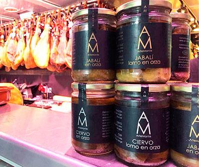 Arte Monte trabaja con la carne de monte | Foto: Arte Monte