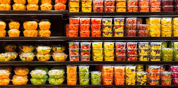 Fruta envasada y lista para comer | Foto: ensia.com