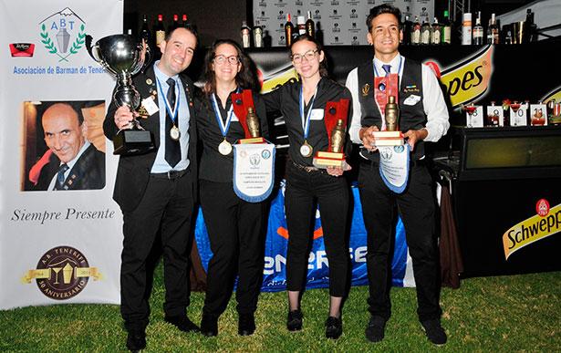 Foto de familia de los galardonados en el certamen | Foto: Gerard Zenou