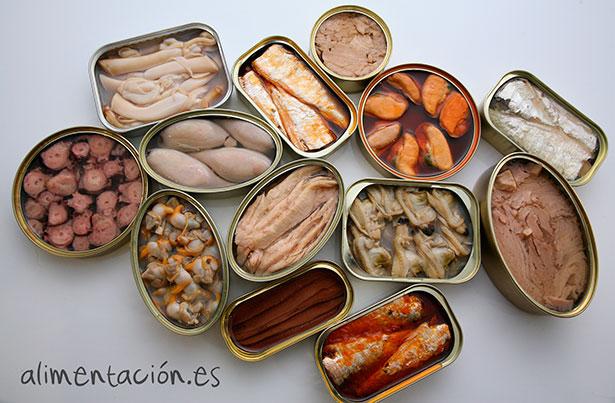 Conservas de pescado | Foto: alimentacion.es