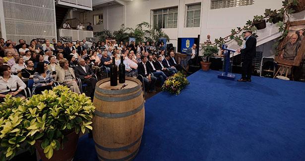 El acto contó con una numerosa afluencia de público | Foto: Cabildo de Gran Canaria