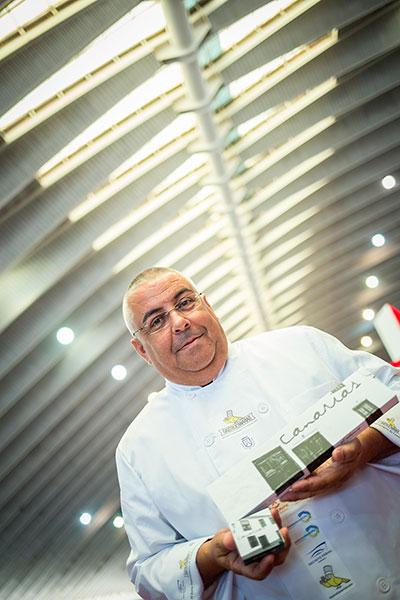 Teobaldo Méndez, propietario de El Aderno | Foto: A.G.