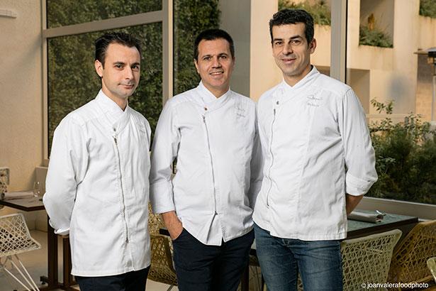 Eduard-Xatruch, Oriol Castro y Mateu Casañas | Foto: Joan Valera