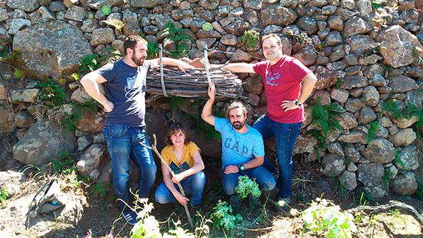 """Alfonso Torrente, José Ángel Martínez, Laura Ramos y Roberto Santana """"reinventan los vinos canarios"""""""