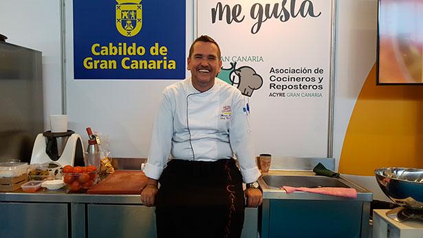 Leeb es un defensor a ultranza de los productos locales | Foto: J.L.C.